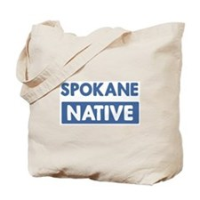 SPOKANE native Tote Bag