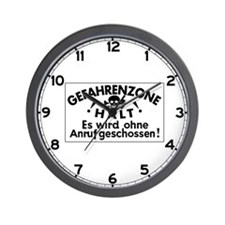 We Will Shoot Without Warning, Germany Wall Clock