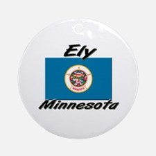 Ely Minnesota Ornament (Round)