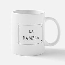 La Rambla, Barcelona, Spain Mug