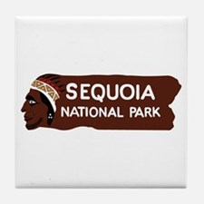 Sequoia National Park, California - U Tile Coaster