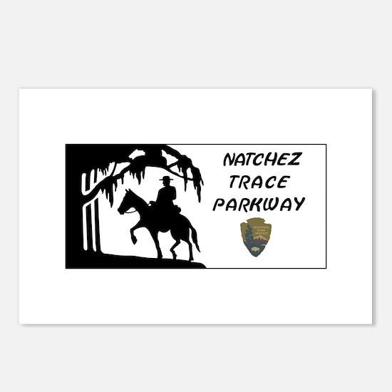 Natchez Trace Parkway, Al Postcards (Package of 8)