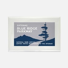 Blue Ridge Parkway, VA & NC - USA Rectangle Magnet