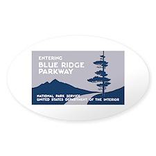 Blue Ridge Parkway, VA & NC - USA Decal