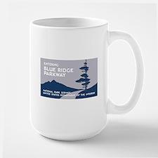 Blue Ridge Parkway, VA & NC - USA Large Mug