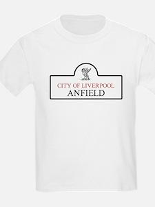 Anfield Borough, Liverpool, UK T-Shirt