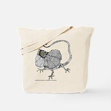 Frilled Lizard Tote Bag
