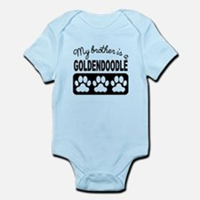 My Brother Is A Goldendoodle Body Suit