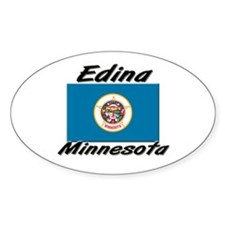 Edina Minnesota Oval Decal