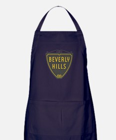 Beverly Hills, LA, California - USA Apron (dark)
