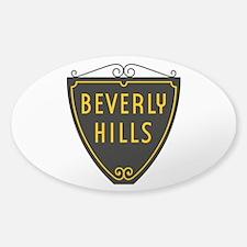 Beverly Hills, LA, California - USA Sticker (Oval)