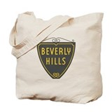 Beverly hills Canvas Totes