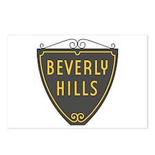 Beverly Hills, LA, Califo Postcards (Package of 8)