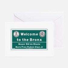 Welcome to the Bronx, Ne Greeting Cards (Pk of 10)