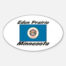 Eden Prairie Minnesota Oval Decal