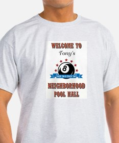 TONY'S POOL HALL T-Shirt