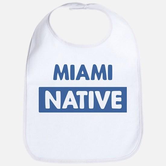 MIAMI native Bib
