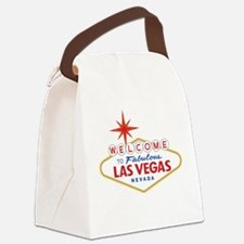Welcome to Fabulous Las Vegas, NV Canvas Lunch Bag