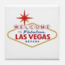 Welcome to Fabulous Las Vegas, NV Tile Coaster