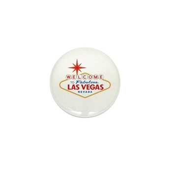 Welcome to Fabulous Las Vega Mini Button (10 pack)
