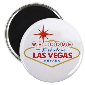 Welcome to Fabulous Las Vegas, NV Magnet