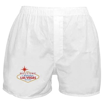 Welcome to Fabulous Las Vegas, NV Boxer Shorts