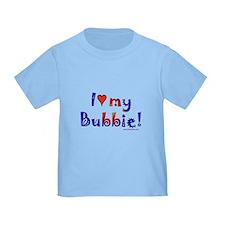 I love my Bubbie T