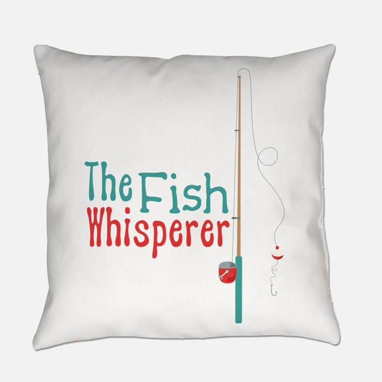 Fishing pillows fishing throw pillows decorative couch for Fish throw pillows