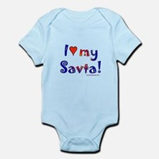 I love my Savta Infant Bodysuit