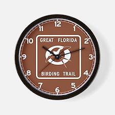 Great Florida Birding Trail - USA Wall Clock