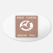 Great Florida Birding Trail - USA Sticker (Oval)
