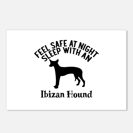 Feel Safe At Night Sleep Postcards (Package of 8)