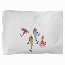 Fishing Lures Pillow Sham