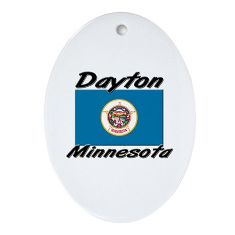 Dayton Minnesota Oval Ornament