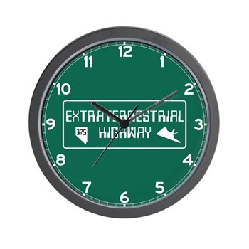 Extraterrestrial Highway, Nevada - USA Wall Clock