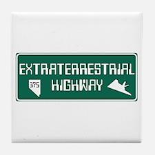 Extraterrestrial Highway, Nevada - US Tile Coaster