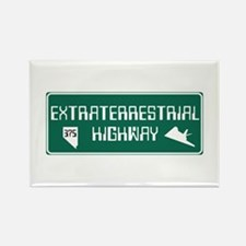 Extraterrestrial Highway, Nevada Rectangle Magnet