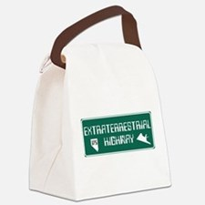 Extraterrestrial Highway, Nevada Canvas Lunch Bag