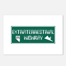 Extraterrestrial Highway, Postcards (Package of 8)