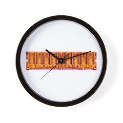 Electro Circuitry Wall Clock