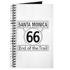 Santa Monica End of Trail, California - US Journal
