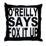 FOX IT UP Throw Pillow