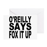 FOX IT UP Greeting Cards (Pk of 10)