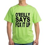 FOX IT UP Green T-Shirt