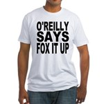 FOX IT UP Fitted T-Shirt