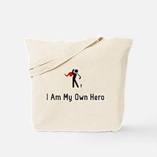 Golf Hero Tote Bag
