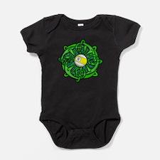 Irish Invader 9 Ball Baby Bodysuit
