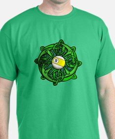 Irish Invader 9 Ball St Patricks Day T-Shirt