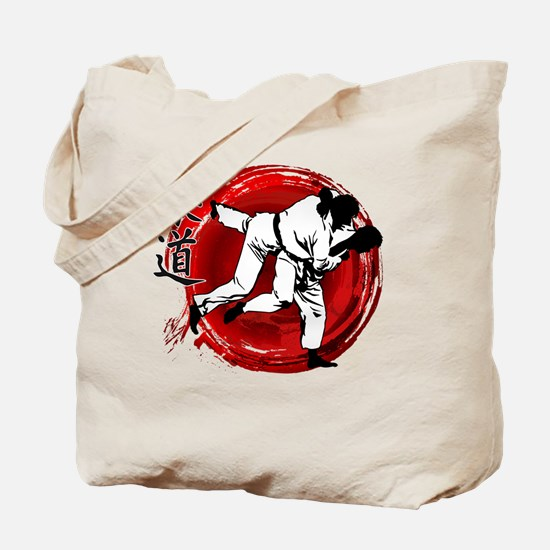 Cute Judo Tote Bag