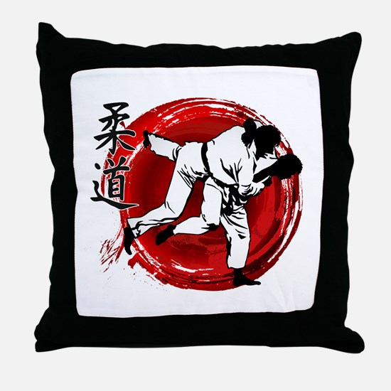 Cute Sambo Throw Pillow
